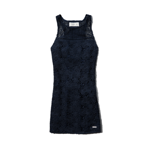 Womens Gwyneth Lace Shift Dress