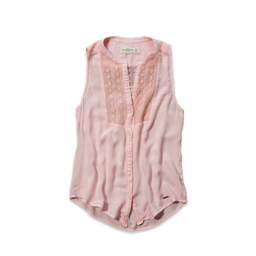 Womens Bailey Sleeveless Shirt