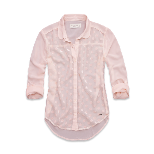 Womens Jenny Velvet Burnout Shirt