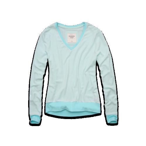 Sale alerts for Abercrombie Bella Drapey Sweatshirt - Covvet