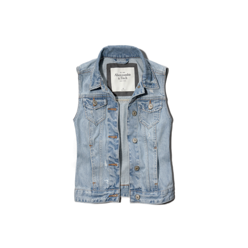 Womens Christa Denim Vest