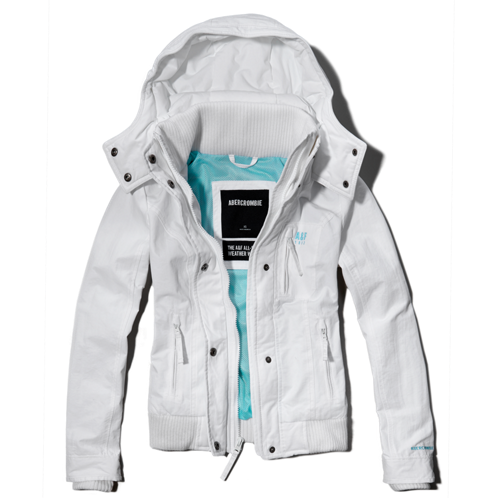 Womens A&F All-Season Weather Warrior Bomber