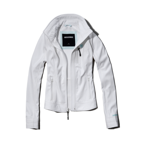 Womens A&F Active Soft Shell Jacket