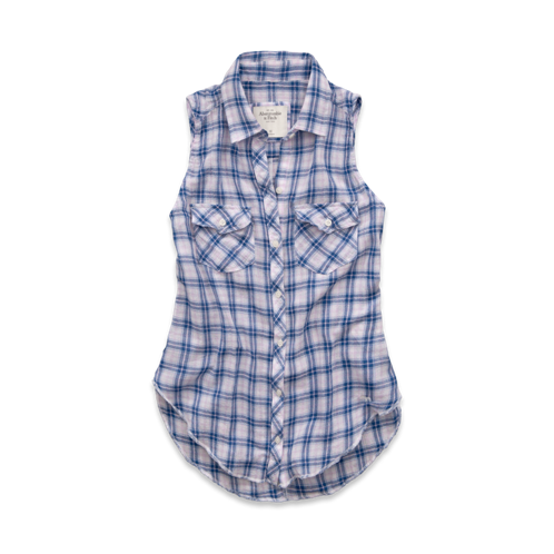 Womens Beth Sleeveless Shirt