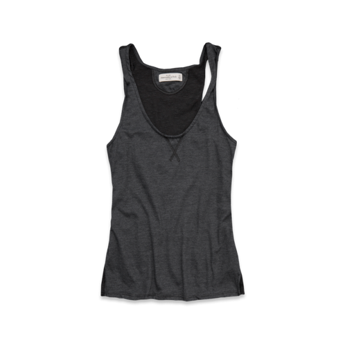 Tops Jody Sheer Back Tank