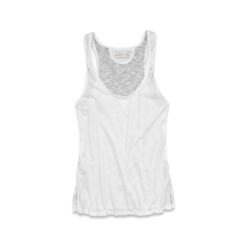 Womens Jody Sheer Back Tank