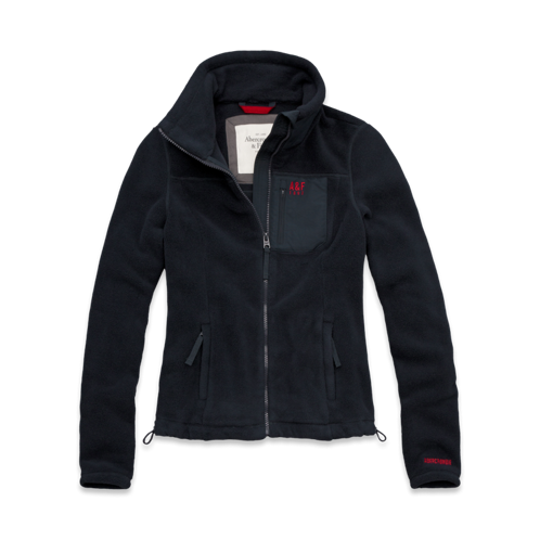 Womens A&F Mountain Fleece Jacket