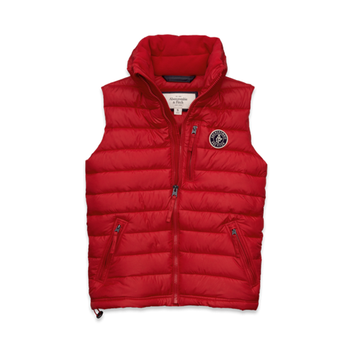 Mens Gray Peak Vest