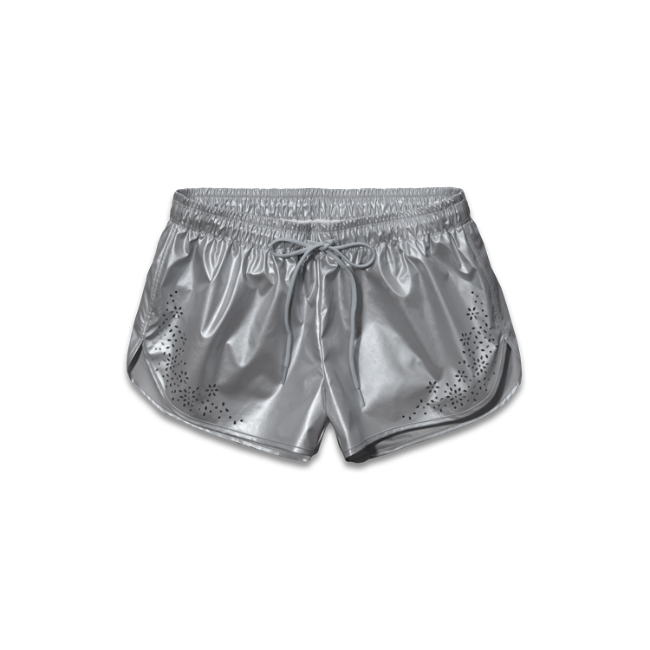 Womens A&F Active High Shine Shorts