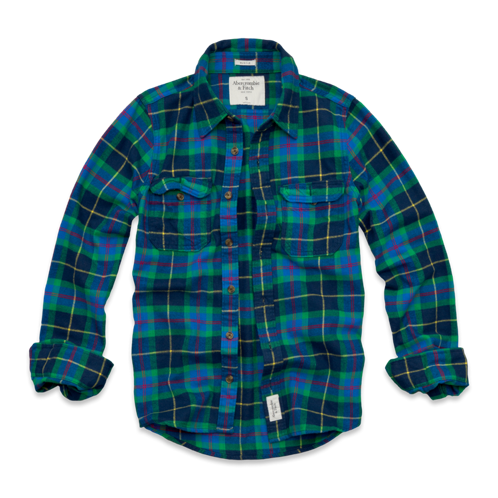 Featured Items Lake Harris Flannel Shirt