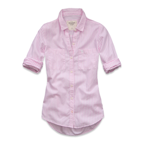 Womens Maya Striped Shirt
