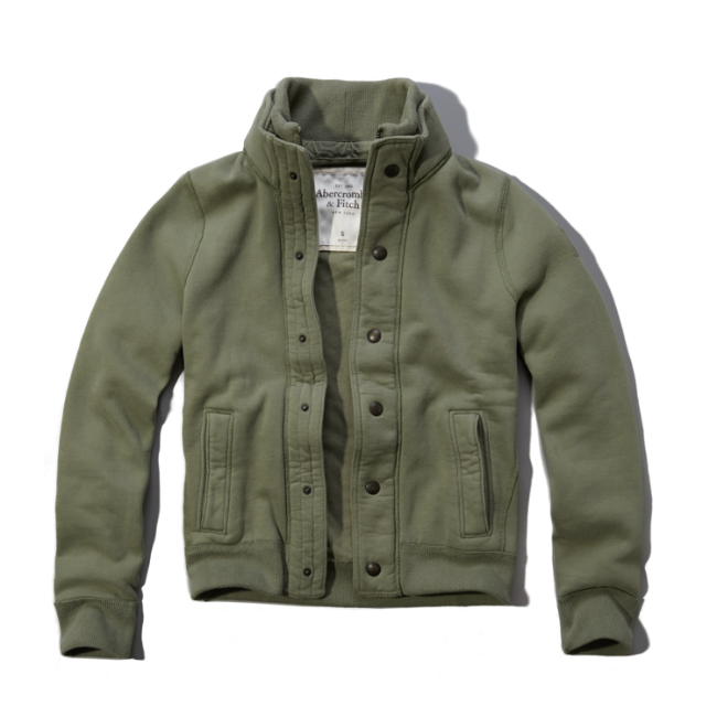Mens Owen Pond Sweatshirt Jacket