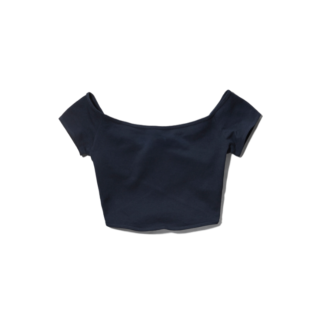 Womens Carter Cropped Top