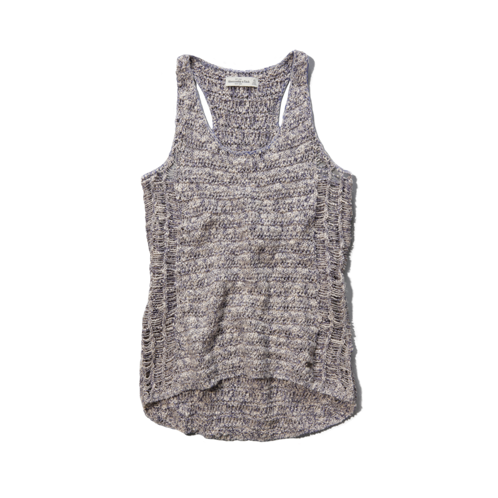 Womens Michelle Shine Sweater Tank