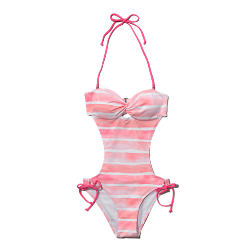 Womens Cut Out Swim Suit