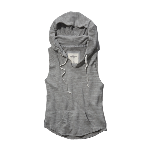 Womens Tara Sleeveless Sweatshirt
