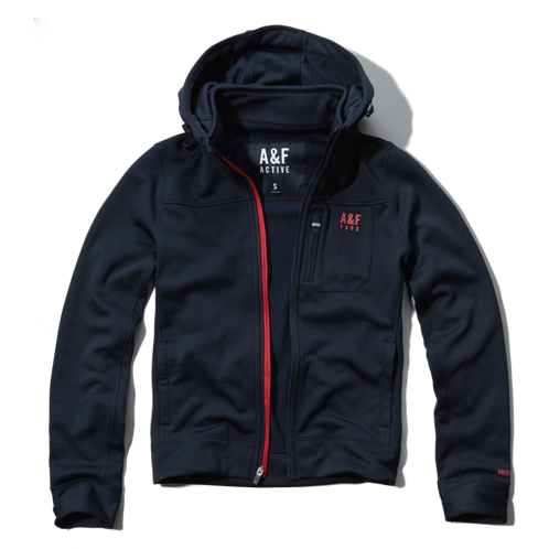 Tops A&F Active Full-Zip Jacket