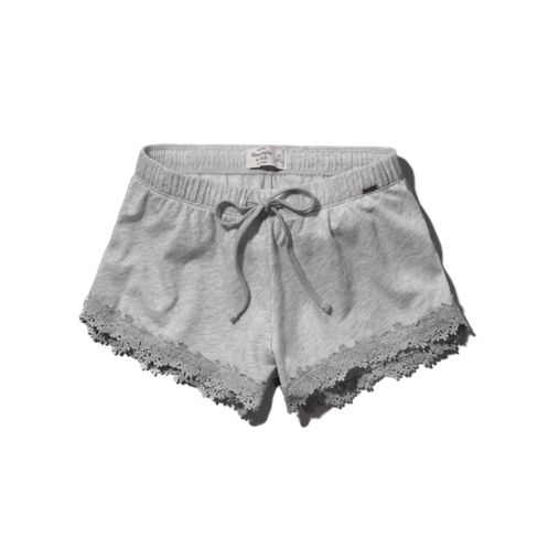 Womens A&F Lacy Knit Shorts