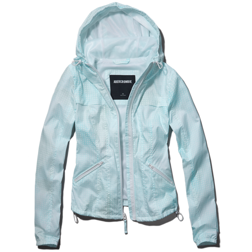 Womens A&F Active Windbreaker