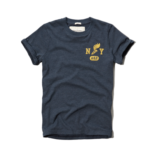 Mens Railroad Notch Tee