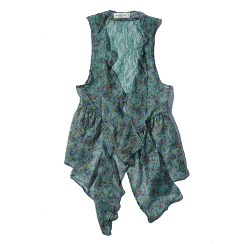 Womens Addison Drapey Vest