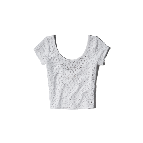 Womens Olivia Crop Top