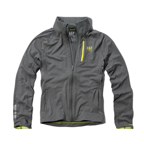 Mens A&F Active Full-Zip Jacket
