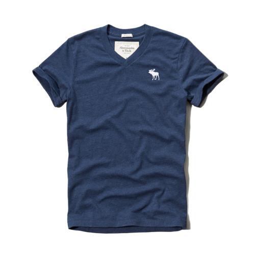 Mens Moose Creek Rolled Cuff Tee