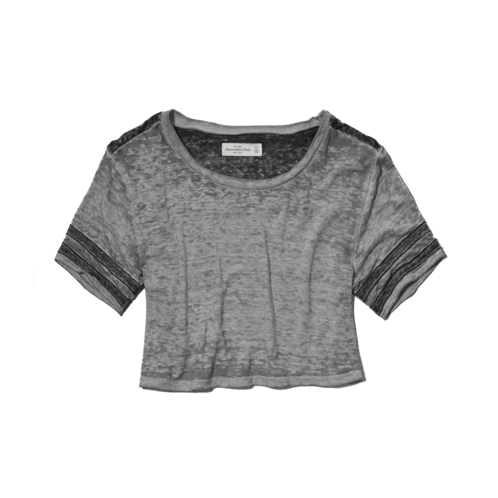 Tops Kendell Cropped Tee