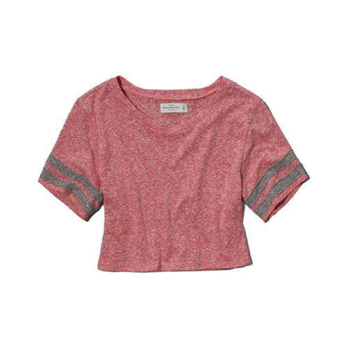 Womens Kendell Cropped Tee