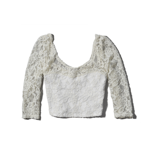 Womens Elicia Crop Top