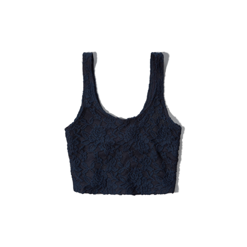 Womens Iris Crop Top