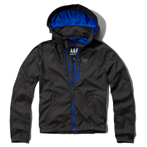 Mens A&F Active Windbreaker