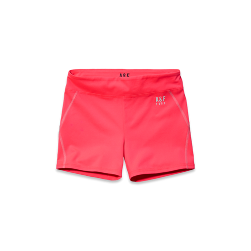 Womens A&F Active Short-Shorts