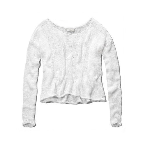 Womens Caroline Cropped Sweater