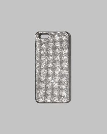 Womens Shine Embellished Phone Case