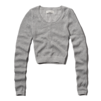Womens Alexis Cropped Sweater
