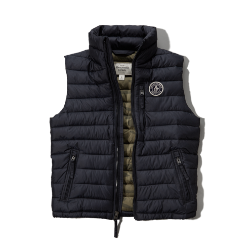 Mens Jay Range Packable Puffer Vest