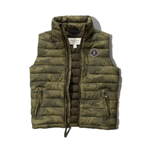 Mens Railroad Notch Packable Vest
