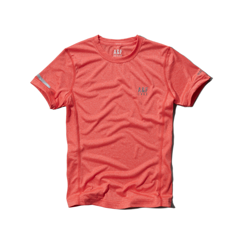 Tops A&F Active Base Layer Tee