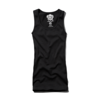 Womens Sugarlips Long Ribbed Tank