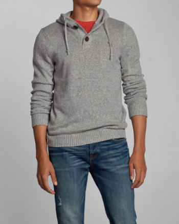 Mens Palmer Brook Hooded Sweater