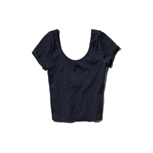 Womens Ella Crop Top