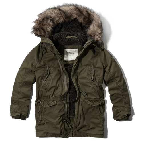 Mens Green Mountain Parka