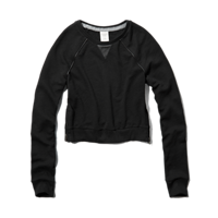 Womens Caroline Cropped Sweatshirt