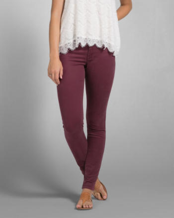 Womens A&F Mid Rise Jegging