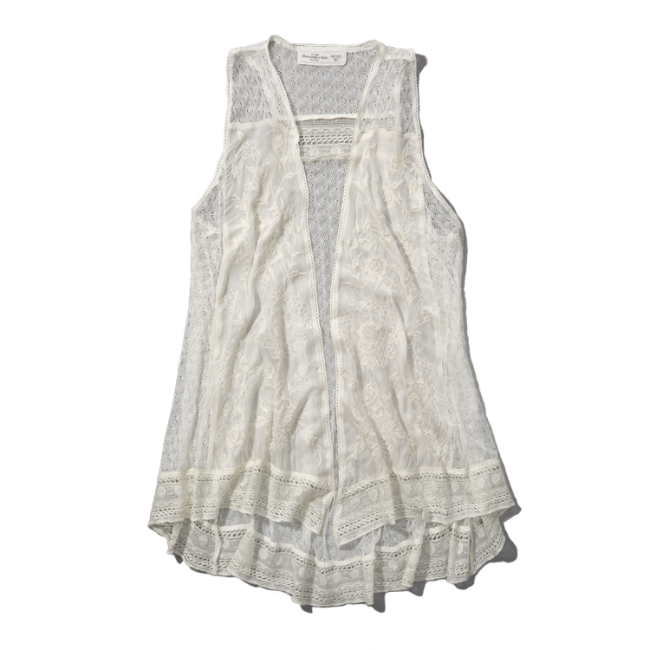 Womens Madeline Lace Vest