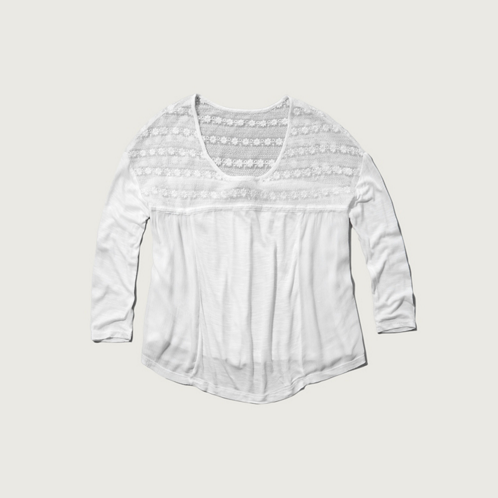 Womens Samantha Lace Top