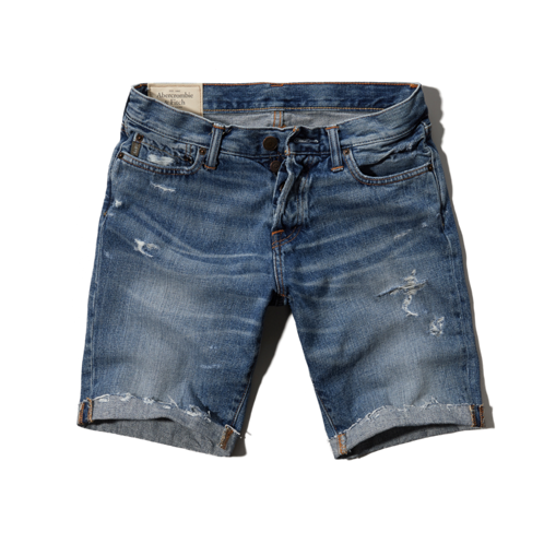 Mens A&F Denim Shorts