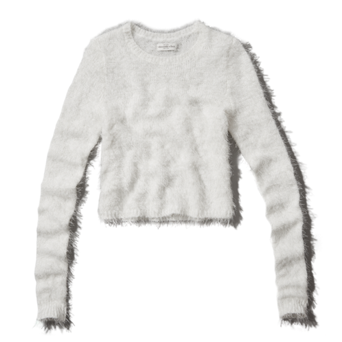 Womens Tristen Cropped Sweater